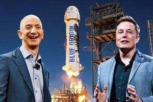 Ông chủ Tesla 'đá đểu' CEO Amazon là 'kẻ cóp nhặt'