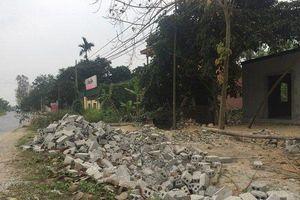 Dân 'cấp tốc' xây dựng công trình để chờ đền bù dự án cao tốc Bắc - Nam
