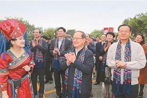 Festival Quảng Tây - Tết Mùng 3 tháng 3 dân tộc Choang rực rỡ sắc màu