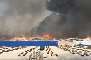 Vụ cháy kinh hoàng tại Khu công nghiệp Sóng Thần 2: Thiệt hại rất lớn