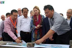 Chuyên gia Hà Lan đề xuất các giải pháp chống sạt lở biển Cửa Đại