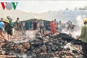 Một chủ nhà ở Nghệ An chết cháy lúc giữa trưa