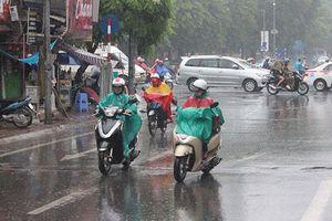 Hà Nội giảm nhiệt, nhiều nơi có mưa dông