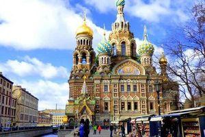 Thành phố St. Petersburg của Nga thu thuế du lịch