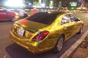 Những chiếc xe mạ đồng Phúc XO 'nổ' dát vàng