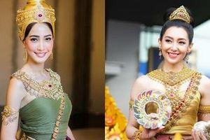 Mỹ nhân Thái Lan hóa thân thành nữ thần Songkran