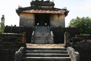Kiến trúc độc đáo, khác biệt của lăng Thiệu Trị