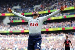 Siêu dự bị lập công, Tottenham vượt mặt Chelsea vào top 3