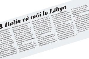 Italia và mối lo Libya