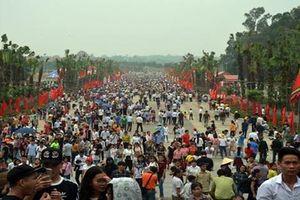 Hàng ngàn người tham gia bảo vệ an ninh Lễ hội Đền Hùng 2019