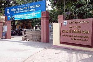 2 thí sinh ở Hòa Bình bị xóa khỏi danh sách trúng tuyển vào trường Đại học Kinh tế quốc dân
