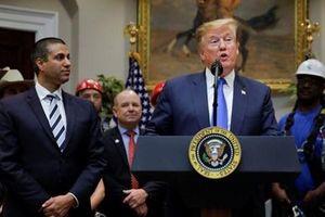 Tổng thống Trump công bố sáng kiến 5G với mệnh lệnh 'Mỹ phải thắng'