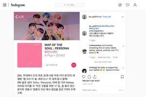 Loạt sao Hàn phát cuồng, chia sẻ điên đảo ca khúc mới 'Boy With Luv' của BTS