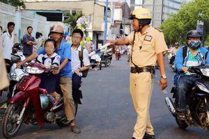 Quyết liệt xử lý vi phạm giao thông
