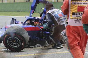 Tay đua F1 gốc Thái thoát chết một cách thần kỳ