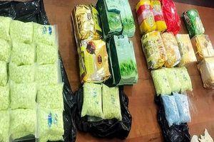 Bắt vụ vận chuyển 26,6kg ma túy từ Campuchia về Việt Nam