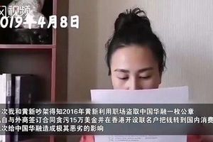 Vợ quan chức tố chồng có 60 người tình
