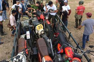 Lén tổ chức đua xe ngày nghỉ lễ bị công an phát hiện bắt giữ
