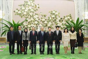 Đoàn Nghệ thuật Quốc gia Việt Nam tham dự Ngày lễ Thái Dương của Triều Tiên