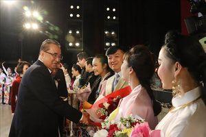 Đoàn Nghệ thuật Quốc gia Việt Nam biểu diễn tại Triều Tiên