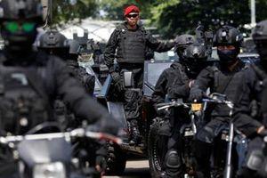 Gần 500.000 cảnh sát và binh sĩ tham gia bảo vệ bầu cử Indonesia