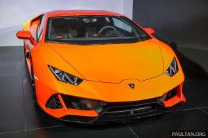 Lamborghini Huracan EVO ra mắt thị trường Malaysia