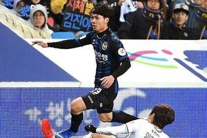 Công Phượng thi đấu đầy nỗ lực, Incheon vẫn gục ngã trước Ulsan Hyundai