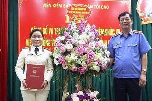 Bắc Ninh có tân nữ viện trưởng VKS tỉnh