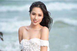 Nhan sắc ngọt ngào của hot girl 2k từng vào top 10 Hoa hậu Việt Nam