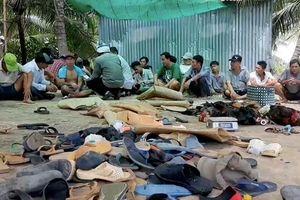 Cảnh sát nổ súng phá tụ điểm đá gà cá độ quy mô lớn trong ngày Giỗ Tổ