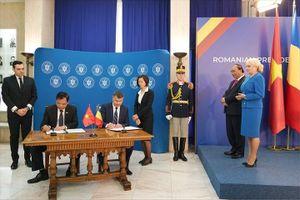 Việt Nam và Romania ký kết ghi nhớ về Hợp tác nông nghiệp, thú y, ATTP