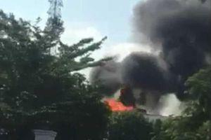 Xử lý kịp thời một vụ nổ trạm biến áp trong khu dân cư