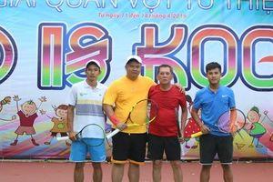 Quyên góp 160 triệu đồng từ Giải Tennis từ thiện 'Kind is Kool' mở rộng