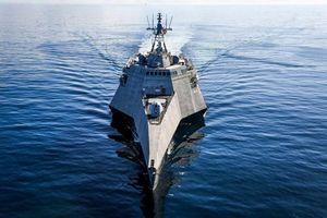 Cận cảnh tàu chiến đấu 'ba thân' lớn nhất thế giới của Mỹ