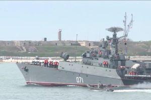 NATO tập trận ở biển Đen, Nga lại cảm ơn?
