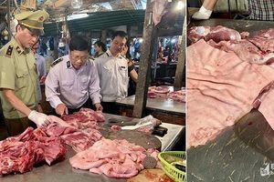 Xử lý nghiêm những hộ dân tự giết mổ và bán thịt lợn chưa qua kiểm dịch