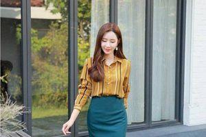 Mặc đẹp mỗi ngày: Đầu tuần diện chân váy bút chì đẹp như nữ công sở Hàn Quốc