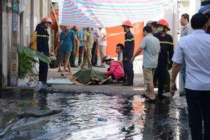 Một phụ nữ tử vong khi đang tìm cách thoát khỏi nhà cháy ở Bình Thuận