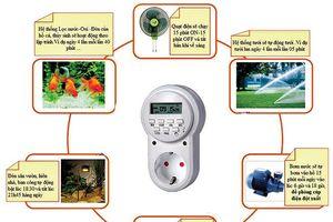 Sử dụng thiết bị thông minh để tiết kiệm điện
