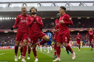 Salah lập siêu phẩm, Liverpool thắng thuyết phục Chelsea