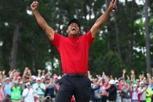 Dính hàng loạt chấn thương nhưng Tiger Woods vẫn vô địch giải golf Masters 2019