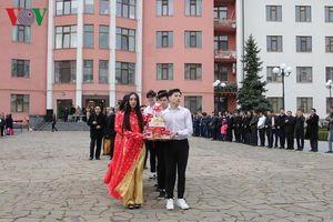 Cộng đồng người Việt Nam tại Ukraine tổ chức lễ giỗ Tổ Hùng Vương 2019
