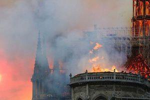 Dàn sao Việt đau lòng trước hình ảnh Nhà thờ Đức bà Paris chìm trong biển lửa