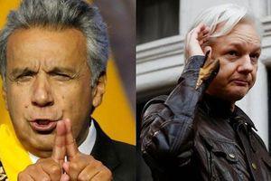 Ecuador: Nhà sáng lập Wikileaks dùng đại sứ quán tại London làm trung tâm do thám