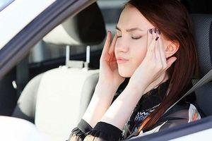 Những bí quyết đơn giản để đối phó với cơn say xe