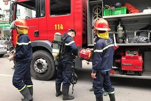 Kịp thời dập tắt vụ cháy trên tầng 32 chung cư HH2C Linh Đàm