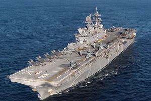 Mỹ biến chiến hạm đổ bộ tấn công thành tàu sân bay mang tiêm kích F-35