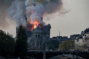 Nhà thờ Đức Bà cháy tan hoang, giới nghệ thuật 'khóc ròng'