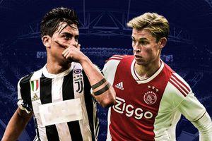 Trước trận gặp Juve, Ajax bất bại ở 4 lần gần nhất làm khách tại Italy
