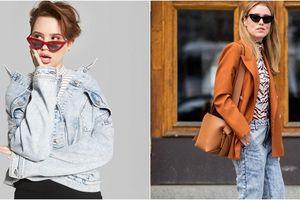 Jeans bạc phếch: Tưởng đồ cũ mà lại là xu hướng thịnh hành